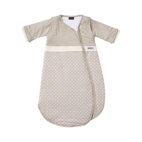 Schlafsack, Bubou, gepunktet beige, Gr. 70 cm