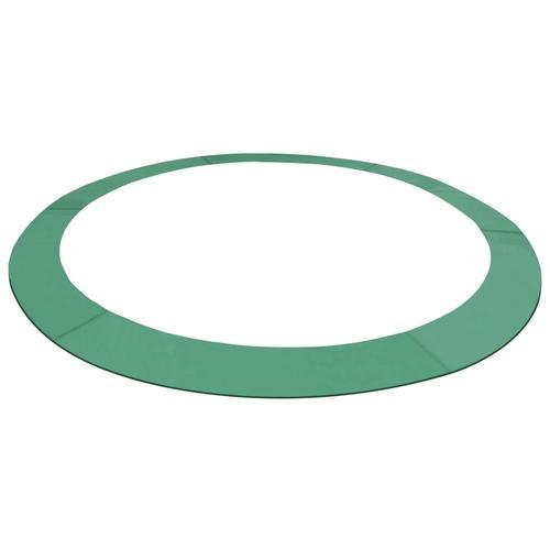 vidaXL Trampolin-Randabdeckung PE Grün für 3,96 m Runde Trampoline