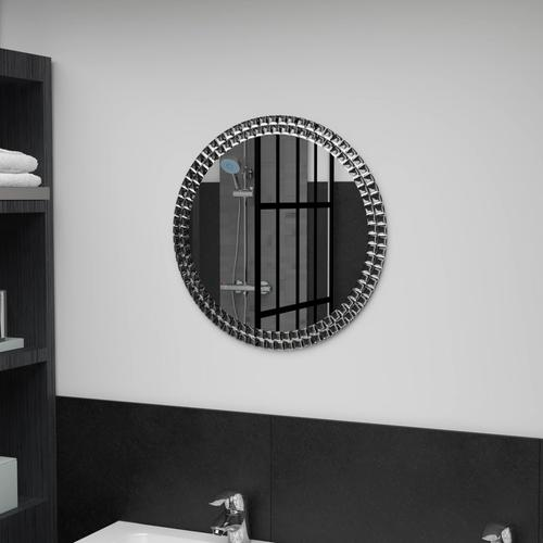 vidaXL Wandspiegel 50 cm Hartglas