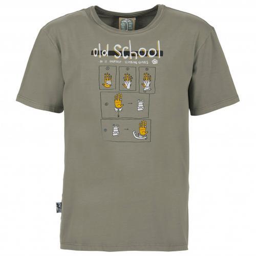 E9 - Old School - T-Shirt Gr XL grau