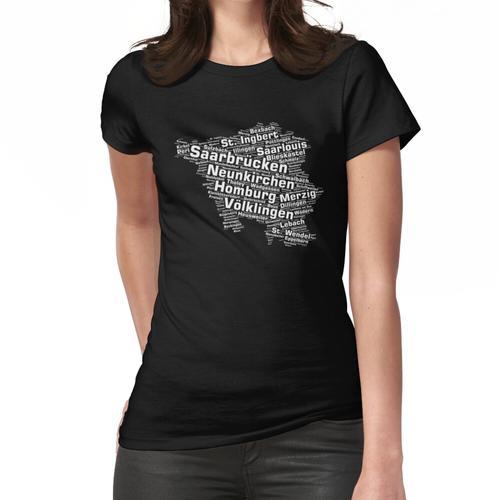 Saarland Bundesland: Saarländische Städte Frauen T-Shirt