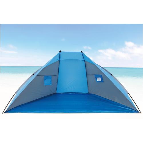 EXPLORER Strandmuschel blau Sonnenschutz Insektenschutz Camping Schlafen Outdoor