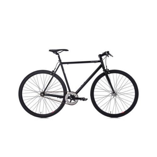 28 Fahrrad Fixie Singlespeed Flip Flop schwarz Fitnessbikes, Rahmenhöhe: 59 cm