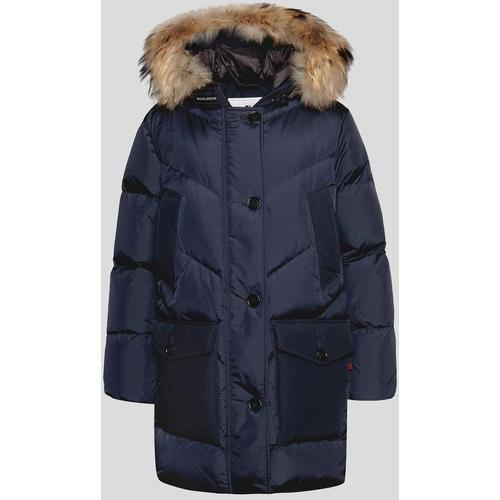 Woolrich Frauen Arctic Parka DF Melton Blue