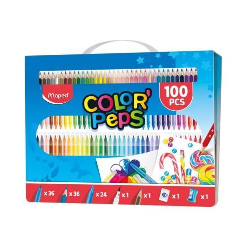 Stifte-Set COLOR'PEPS 100-tlg.