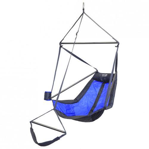 ENO - Lounger Hanging Chair - Hängematte Gr 178 x 91 x 91 cm grau/blau/schwarz