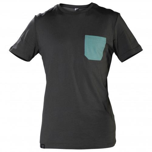 Snap - Monochrome Pocket - T-Shirt Gr L schwarz