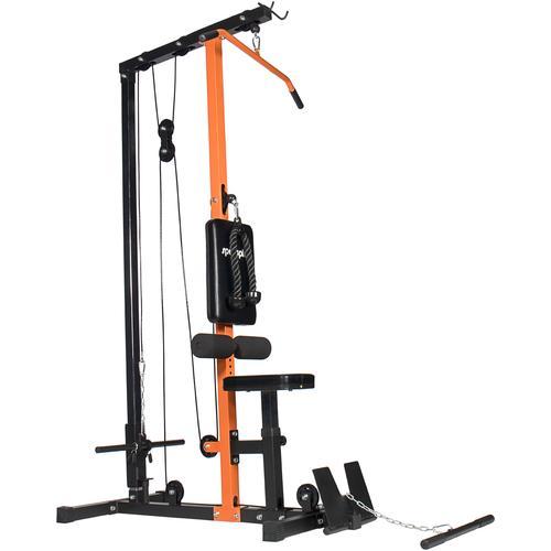 SportPlus Kraftstation Latzugstation SP-HG-009 schwarz Fitness Ausrüstung Sportarten