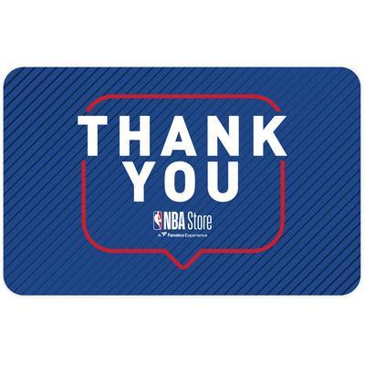 """NBA Store Thank You eGift Card ($10 - $500)"""