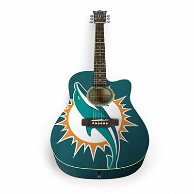 Woodrow Guitar by The Sports Vault NFL Baltimore Ravens Acoustic Guitar