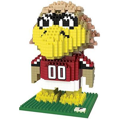 FOCO NFL Atlanta Falcons BRXLZ 3D Blocks Set - Mascot, Team Color, One Size