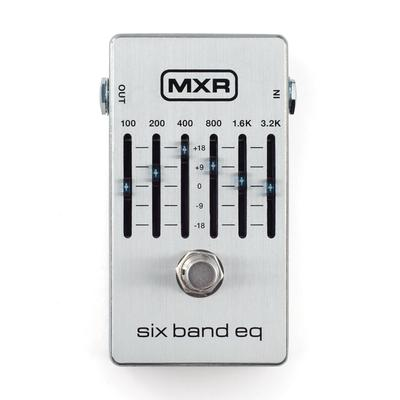 Dunlop MXR M109S Six-Band Graphic EQ Guitar Pedal