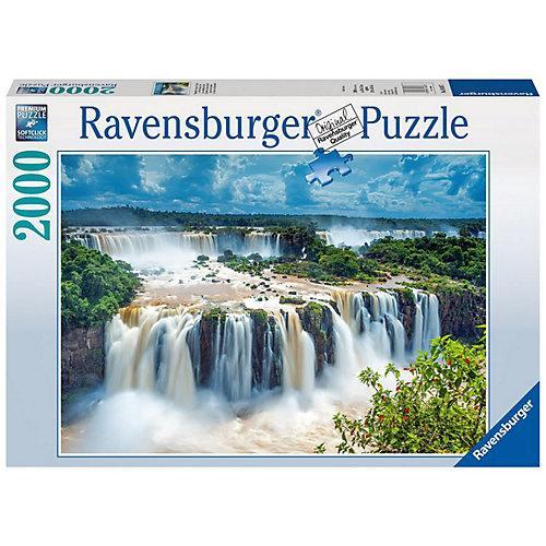 Puzzle 2000 Teile, 98x75 cm, Puzzle Wasserfälle von Iguazu