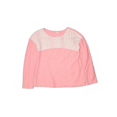 Fab Kids - Fab Kids Pullover Sweater: Pink Tops - Size 2X-large