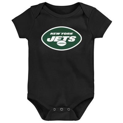 """New York Jets Newborn & Infant Team Logo Bodysuit - Black"""