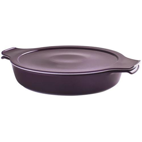 Eschenbach Kochtopf Cook & Serve, Porzellan, (1 tlg.), Ø 24 cm, 1,2 L, Induktion lila Gemüsetöpfe Töpfe Haushaltswaren