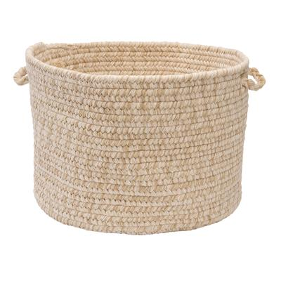 Tremont Basket by Colonial Mills in Natural (Size 18X18X12)