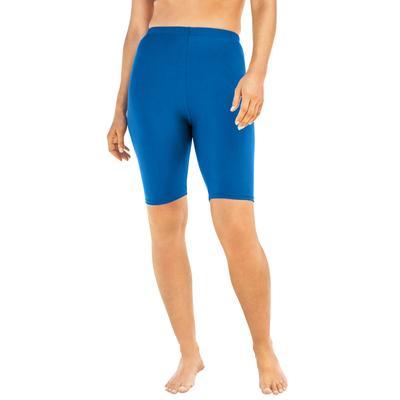 Plus Size Women's Swim Bike Short by Swim 365 in Dream Blue (Size 28)