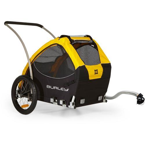 Burley Fahrradhundeanhänger Tail Wagon schwarz Rad-Ausrüstung Radsport Sportarten