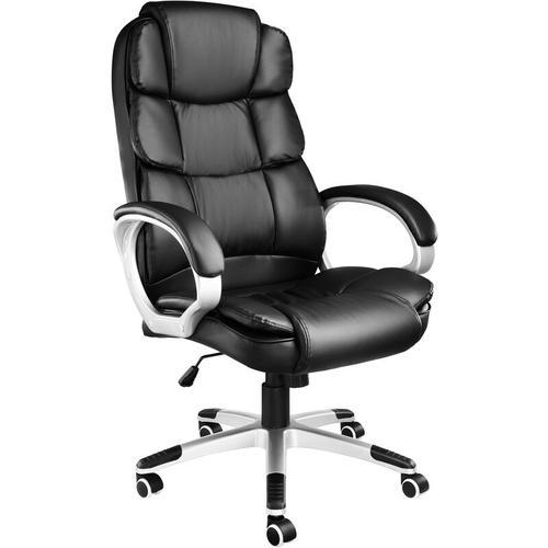 Tectake - Chefsessel Jonas - Computerstuhl, Schreibtischstuhl, Chefsessel - schwarz
