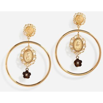 Dolce & Gabbana Drop Earrings With Decorative Details