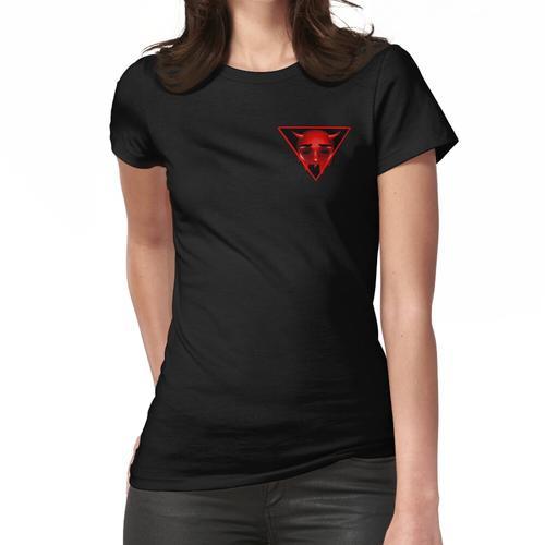 Dreiseitige Hölle Frauen T-Shirt
