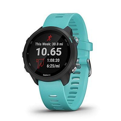 Garmin Forerunner 245 Music, GPS Running Smartwatch with Music and Advanced Dynamics, Aqua