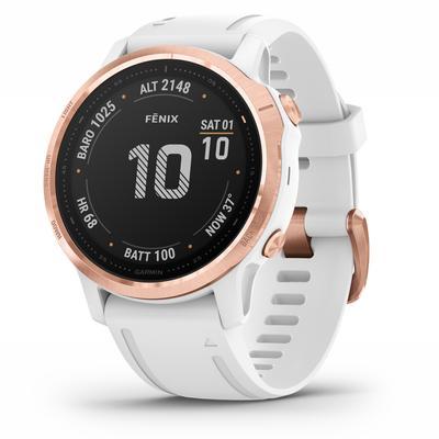 Garmin fenix 6S PRO Multisport GPS Smartwatch (Rose Gold)(010-02159-10)