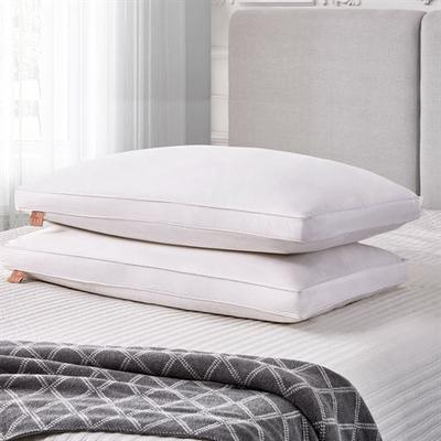 Side Sleeper Jumbo Pillows White Set of Two, Set of Two, White
