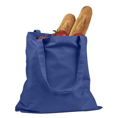 BAGedge BE007 6 oz. Promo Tote Bag in Royal Blue | Canvas