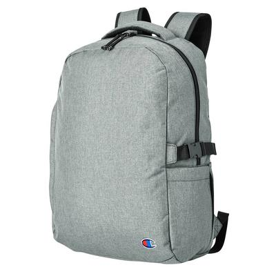 Champion CA1004 Adult Laptop Backpack in Heather | Polyester