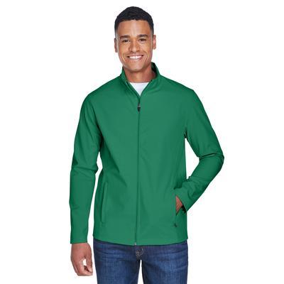 Team 365 TT80 Men's Leader Soft Shell Jacket in Sport Kelly size 4XL