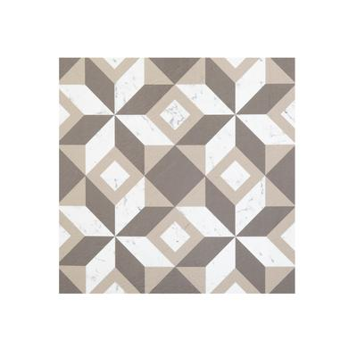 "Retro 12"" x 12"" Self Adhesive Vinyl Floor Tile - 20 Tiles/20 sq. ft. by Achim Home Dcor in Marble"