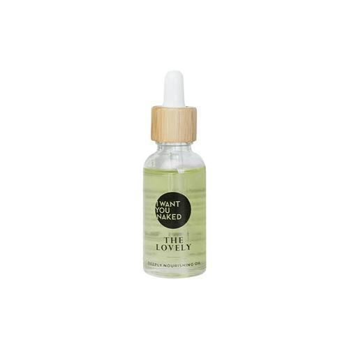 I Want You Naked Gesichtspflege Creme, Öl & Seren Bio-Hanfsamenöl & Mohnöl The Lovely Holy Hemp Face Oil 30 ml