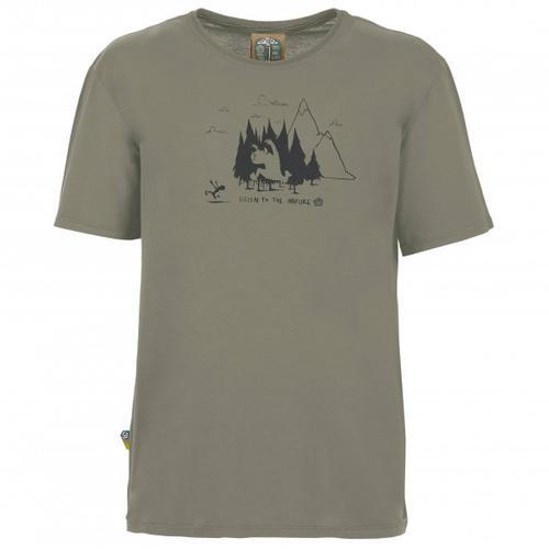 E9 - Living Forest - T-Shirt Gr L grau