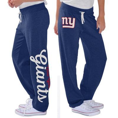 New York Giants G-III 4Her by Carl Banks Women's Scrimmage Fleece Pants - Royal