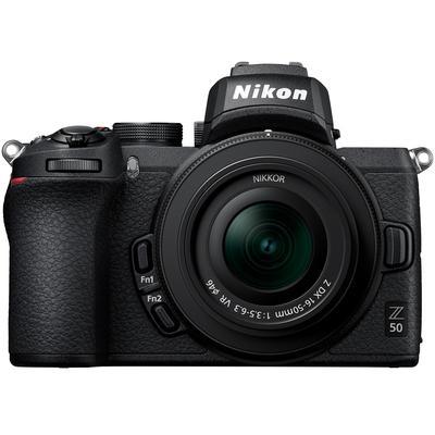 Nikon Z 50 DX-format Mirrorless Camera Body w/ NIKKOR Z DX 16-50mm f/3.5-6.3 VR Lens