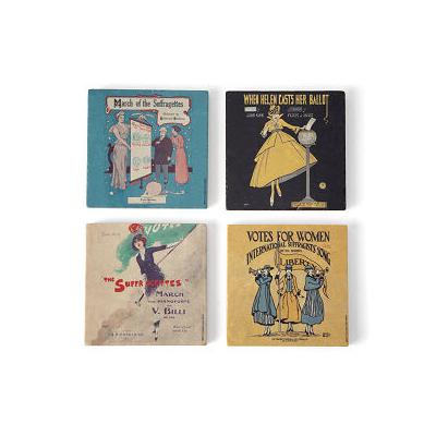 Women's History Suffrage Coasters