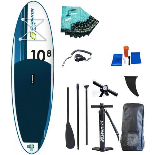 GLADIATOR Inflatable SUP-Board Gladiator LT 10.8 SP, (Set) TOPSELLER weiß Wassersportausrüstung Sportausrüstung