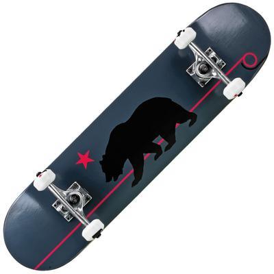 Roller Derby Deluxe Series Skateboard Gray CA Bear
