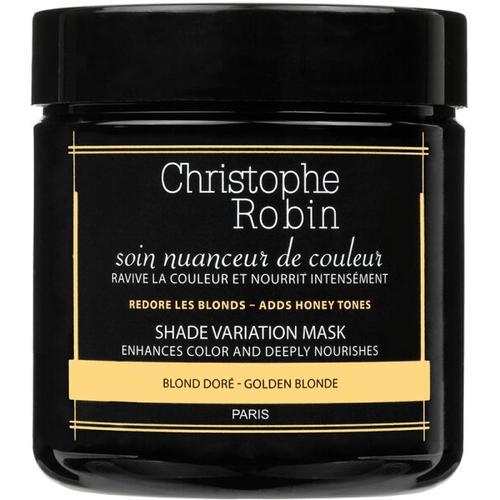 Christophe Robin Shade Variation Mask Golden Blond 250 ml Farbmaske