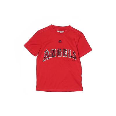 Majestic Active T-Shirt: Red Sol...