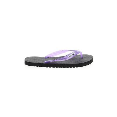 Assorted Brands Flip Flops: Purp...