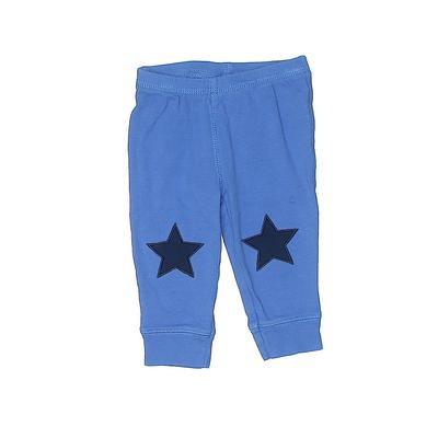 Carter's Casual Pants - Elastic: Blue Bottoms - Size 6 Month
