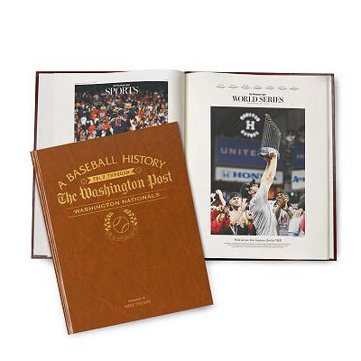 Personalized Washington Nationals History Book