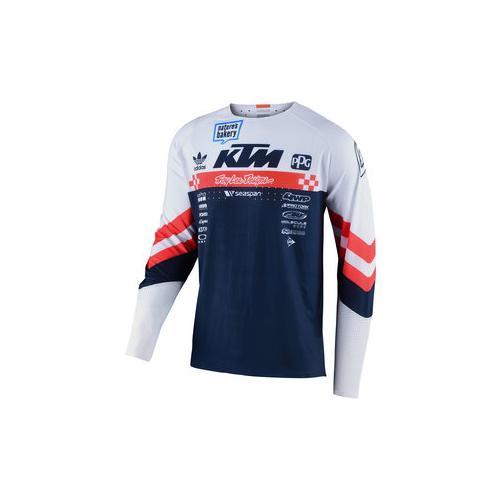 TLD Factory Team Jersey Shirt blau XXL