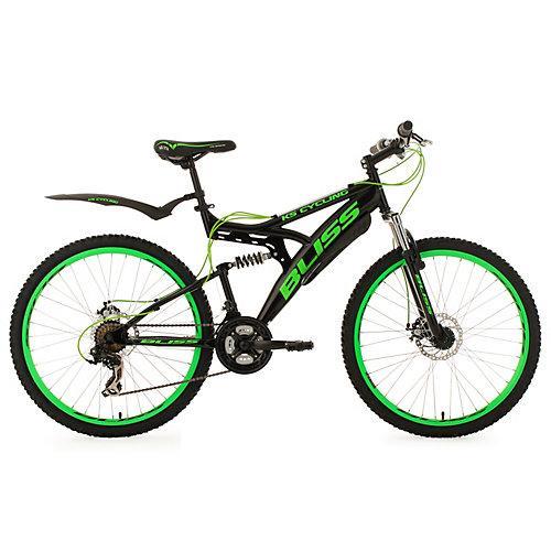 Fully Mountainbike Bliss 26 Zoll Mountainbikes, Rahmenhöhe: 47 cm schwarz