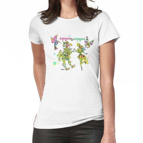 Papageno und Papagena Frauen T-Shirt