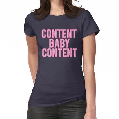 Inhalt Baby Inhalt Frauen T-Shirt