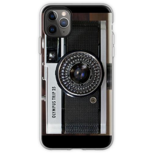 Diese Kompaktkamera mit festem Objektiv benötigt keine Batter Flexible Hülle für iPhone 11 Pro Max